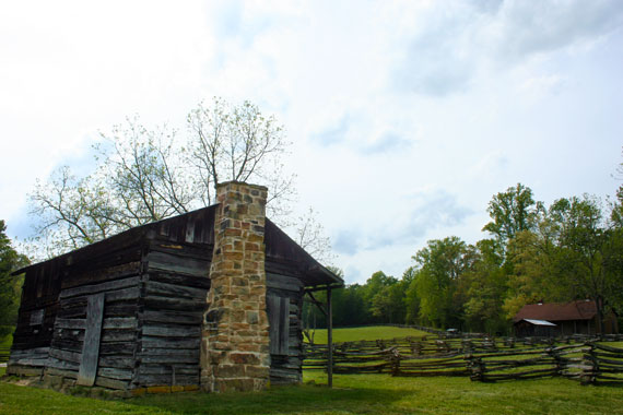The Oscar Blevins Farm is a well-preserved farmstead in the Big South Fork National River & Recreation Area. (Photo: Ben Garrett)